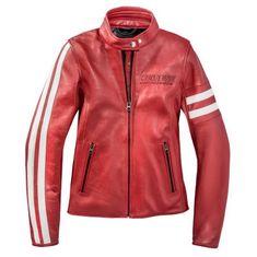 Dainese dámska kožená moto bunda FRECCIA72 LADY (Settantadue) červená/biela, ko