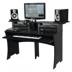 Glorious Workbench BK DJ nábytek