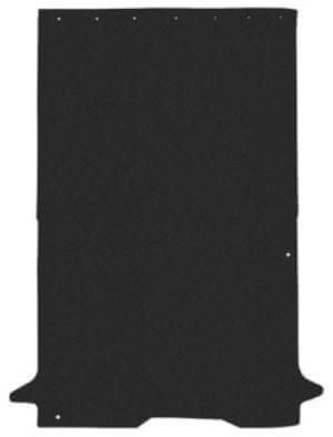 REZAW-PLAST Rohož zavazadlového prostoru Citroën Nemo, Fiat Fiorino cargo, Peugeot Biper 11.2007-, černá