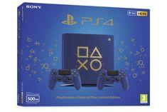 SONY PS4 500GB játékkonzol + DS4 edice Days of Play