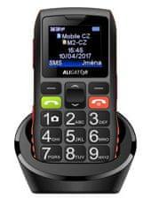 Aligator A440 Senior, Dual SIM, oranžovo-čierny