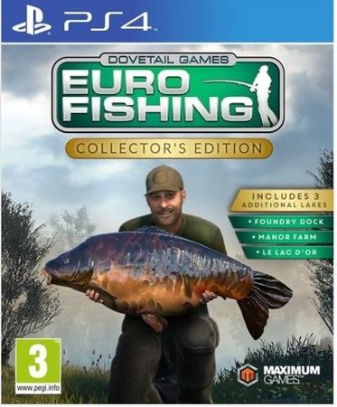 Maximum Games igra Euro Fishing Collector's Edition PS4
