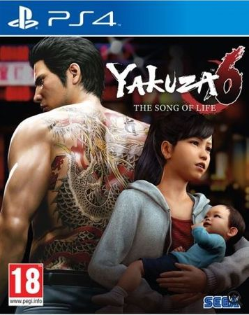 Sega Yakuza 6 Song of Life - Launch Edition PS4