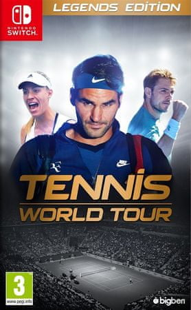 Bigben Tennis World Tour Legends Edition Switch