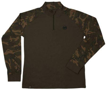 Fox Triko Chunk Camo Khaki Edition LS T Shirt XXL