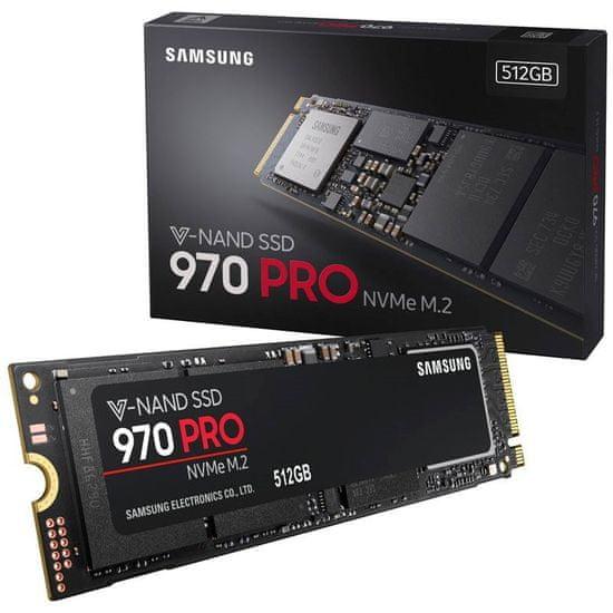 Samsung SSD disk 970 PRO 512 GB, M.2, PCIe NVMe (MZ-V7P512BW)