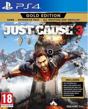 Square Enix Just Cause 3 Gold PS4