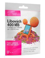 T-Mobile SIM Twist s Námi 400MB