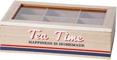 TimeLife Krabička na čaj 6 přihrádek