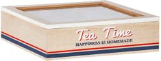 TimeLife Krabička na čaj 9 přihrádek