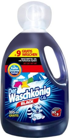 Waschkonig Żel do prania Black, koncentrat 3,05l