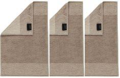 Cawö Frottier ručník two-tone, 3 ks