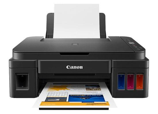 Canon večfunkcijska brizgalna naprava Pixma G2411 + GRATIS črno črnilo