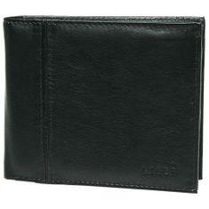 Lagen Pánská černá kožená peněženka Black PW-521-1