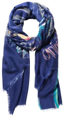 Desigual dámský tmavě modrý šátek Bolimania Tiger