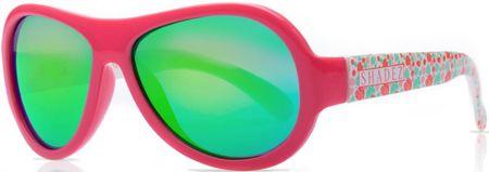 Shadez Dievčenské slnečné okuliare Designers Teeny - ružové