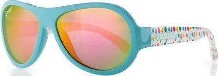 Shadez Dievčenské slnečné okuliare Designers so zmrzlinkami - tyrkysové