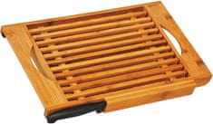 TimeLife Prkénko na pečivo s nožem, bambus