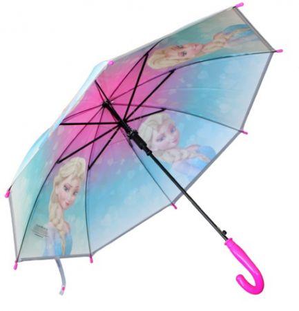E plus M Dívčí deštník Frozen - modro-růžový