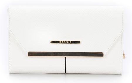 23bf94ed2f Bessie London női pénztárca fehér - További információ a termékről ...