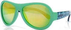 Shadez Chlapecké sluneční brýle Designers s listy 3-7 zelené