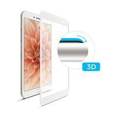 Fixed tvrzené sklo FIXED 3D Full-Cover pro Apple iPhone 6/6S, s lepením přes celý displej, bílé