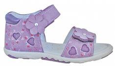 Protetika Dívčí sandály Rinore - fialové, vel. 30 - rozbaleno