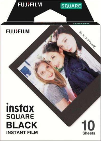 FujiFilm Instax Square Film Black Frame WW 1 (10ks)