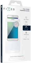 Fixed Full-Cover ochrané tvrzené sklo pro telefon Nokia 3, přes celý displej, bílá FIXGF-200-033WH