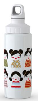 Tefal DRINK2GO nerez.láhev 0,6 l bílá-geisha
