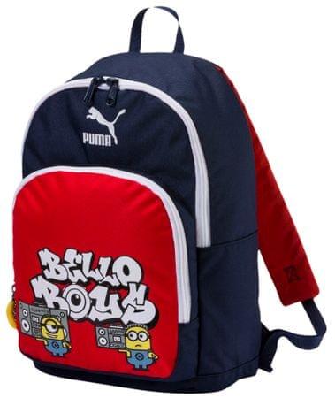 Puma Fiú hátizsák Minyonok - kék piros  6cc1e769e1