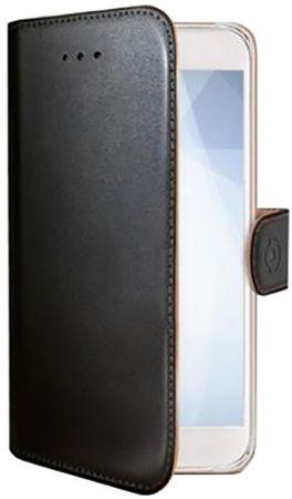 CELLY puzdro typu kniha Wally pre Honor 9 Lite, PU koža, čierne WALLY711