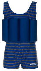 Beverly Kids Chlapecké nadnášející plavky Cote d´Azur - modro-hnědé