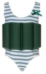 Beverly Kids Dívčí nadnášející plavky Emmily - zeleno-bílé