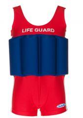 Beverly Kids Chlapecké nadnášející plavky LifeGuard - červeno-modré