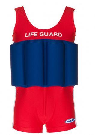 Beverly Kids Chlapčenské nadnášajúce plavky LifeGuard 104 červeno-modré