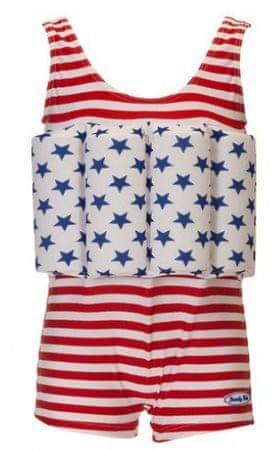 Beverly Kids Chlapčenské nadnášajúca plavky American Dream 110 farebné