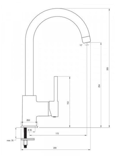 Deante komplet granitno pomivalno korito in kuhinjska armatura ZORBA ZQZV 7113, peščena
