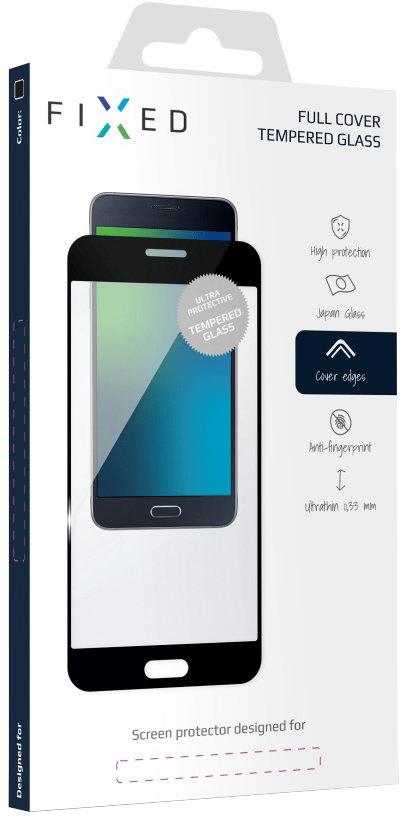 FIXED Full-Cover ochranné tvrzené sklo pro Samsung Galaxy J5 (2017), černé FIXGF-170-033BK