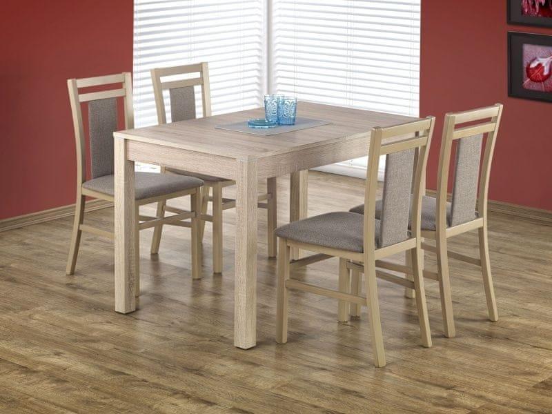 Jídelní stůl rozkládací MAURICI, dub sonoma