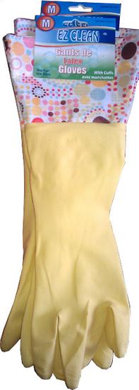 Toro Dlouhé latexové rukavice zelené