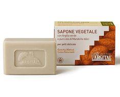 Argital Rostlinné mýdlo se zeleným jílem a mandlovým olejem 100 g