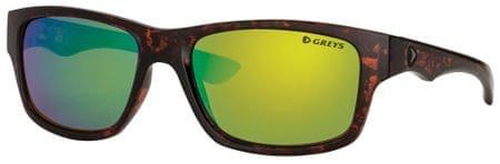 Greys Polarizační Brýle G4 Sunglasses Gloss Tortoise/Green Mirror