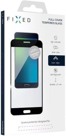 Fixed Full-Cover ochranné tvrzené sklo pro Xiaomi Redmi 5 Plus Global, černé FIXGF-268-033BK