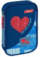 Target peresnica Multy Red Denim Heart, polna (21842)
