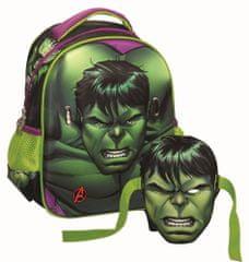 GIM Baťůžek Junior oválný Hulk s maskou
