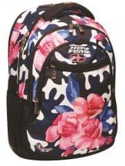 Back Me Up Plecak No Fear - kwiaty