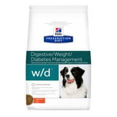 Hill's Prescription Diet w/d Canine z kurczakiem, 4 kg