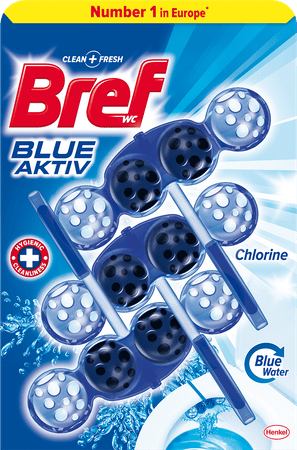 Bref Blue Aktiv Chlorine 3x 50 g