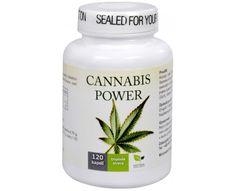 Natural Medicaments Cannabis Power konopné kapsle - 120 kapslí